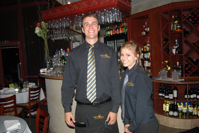 Staff from Trattoria Pina Italian Restaurant